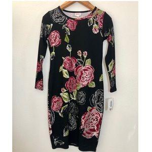 NWT Lularoe Debbie rose dress m